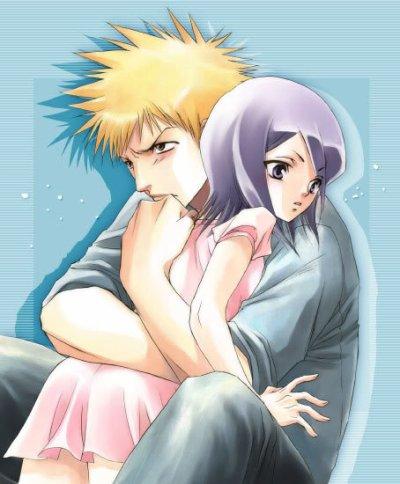 Deuxième couple : Ichigo et Rukia
