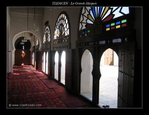 l'intérieur de la grande mosquée