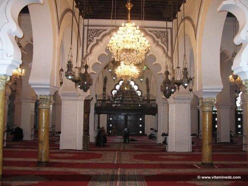 Salle de prière de la grande mosquée