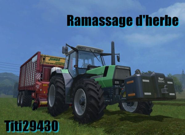 [Farming Simulator 15]  Ramassage d'herbe
