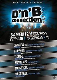 Da Krew en Concert à Montpellier :) DrumN Bass Connection Party III