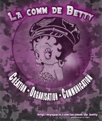 "Nouveau Site ""La Comm de Betty"""