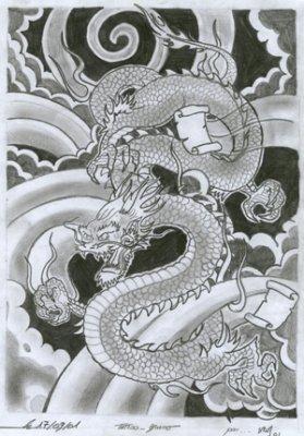Dragon Jap 2 K Tacombe Tattoo C