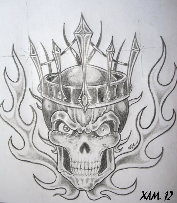 BONE HEAD CROWN