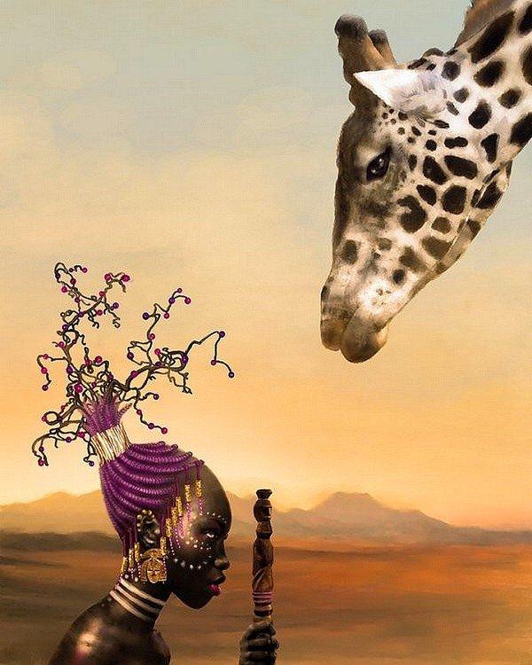 °                         La girafle                            °