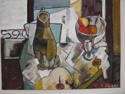 PEINTURES GG. UN ARTISTE A LA MAISON. 2