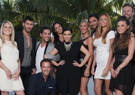 Kim Kardashian avec les anges