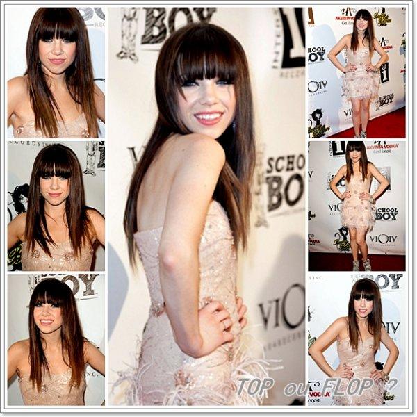 20/09/2012 - Carly était présente à l'évènement Kiss Album Release Party
