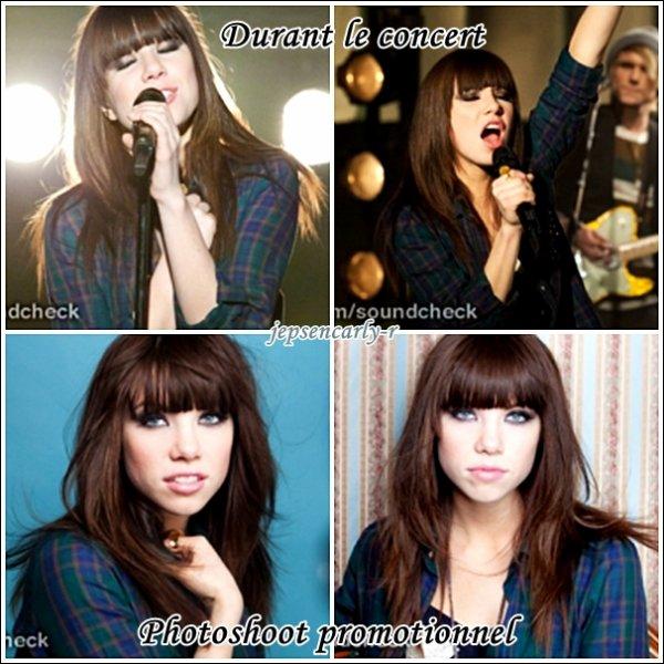 24/09/2012 - Carly était présente au talk-show de Chelsea Lately ! 26/09/2012 - Elle a performé et posé pour la magasin Walmart !