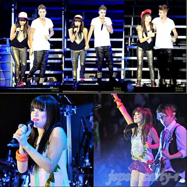 09/10/2012 - Carly assurait le show à Tacoma (WASHINGTON) 10/10/2012 - Carly mettait le feu dans sa ville natale : Vancouver !
