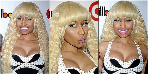 Nicki à la cérémonie des ' Billboard's Women In Music Award
