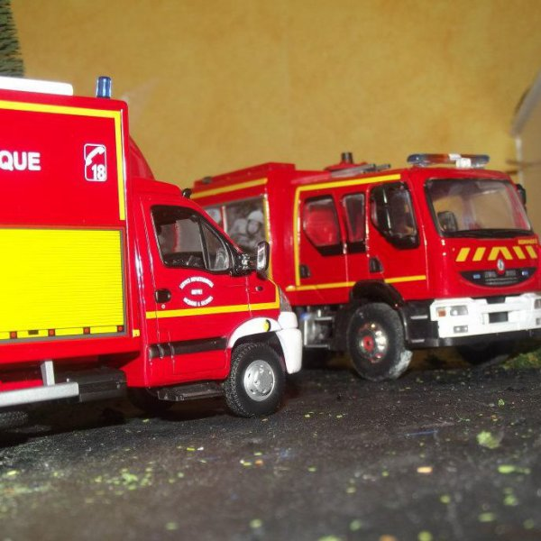 Présentation de mon blog sur le monde sapeurs pompiers miniatures et des véhicules réels.