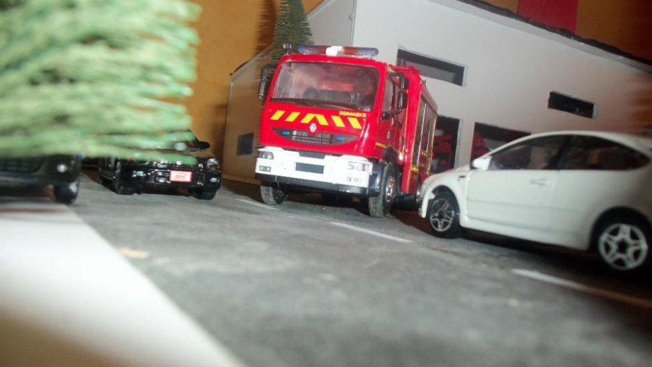 Bienvenue sur son blog de création de miniatures et des véhicules de pompiers.