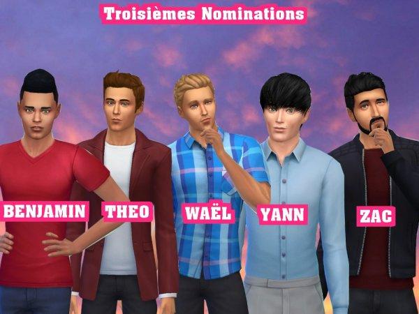 SSS 04 - Troisièmes Nominations : Qui doit rester ?