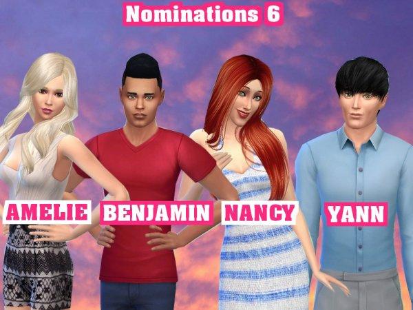 SSS 04 - Sixièmes Nominations : Qui doit rester ?