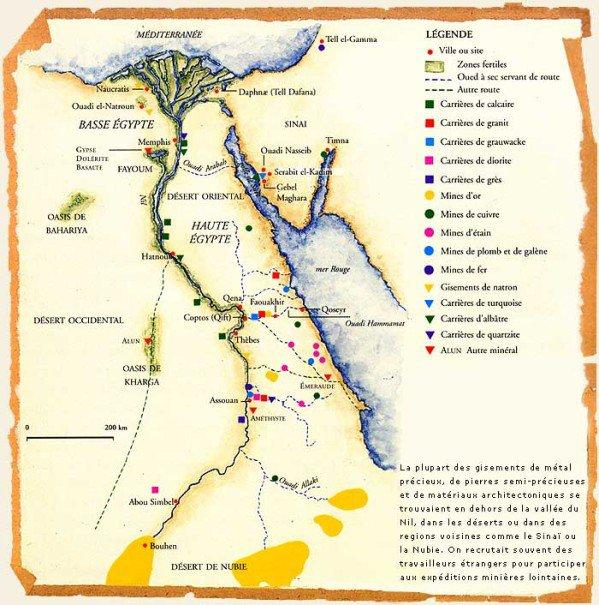 L'Égypte antique : la géographie