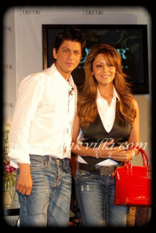 ⋈ Shahrukh Khan & Gauri Khan  ⋈