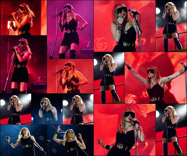 . ••  .25 Mai 2019. ..'─ La talentueuse Miley performait lors du «  BCC Radio One Big Week End  » - Angleterre.Miley à interprété ses single les plus connus mais aussi 3 titres inédits :  'Cattitude' 'Dream' & 'Mother's Daughter' ! Presta' ici. .