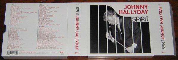 johnny hallyday spirit cd
