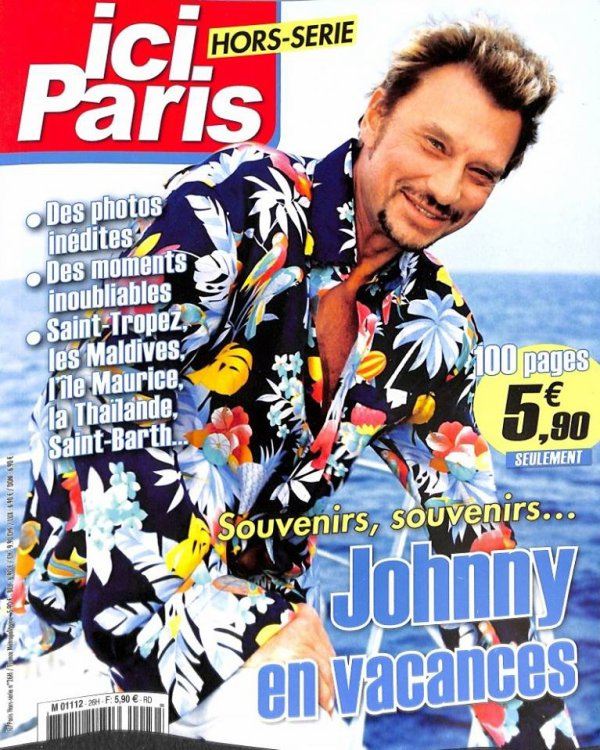ici paris hors serie special johnny (100 pages)