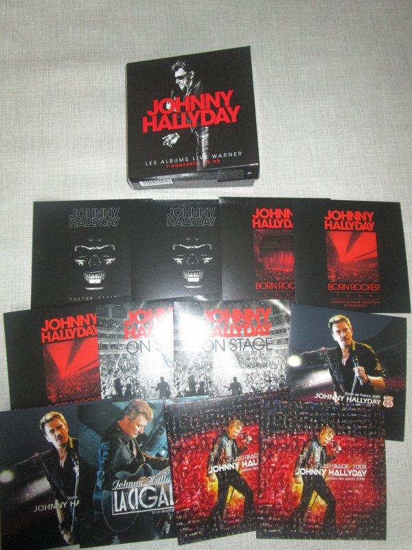 coffret integrale live warner 12 cd