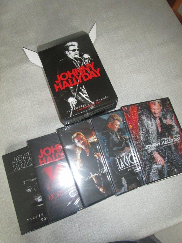 coffret integrale live warner 7 dvd