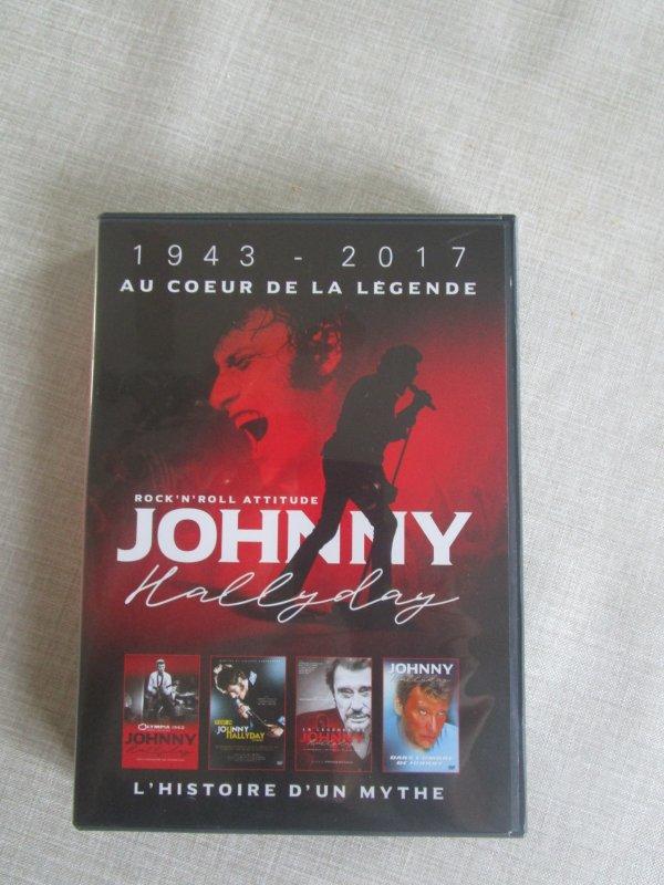 coffret 4 dvd au coeur de la legende