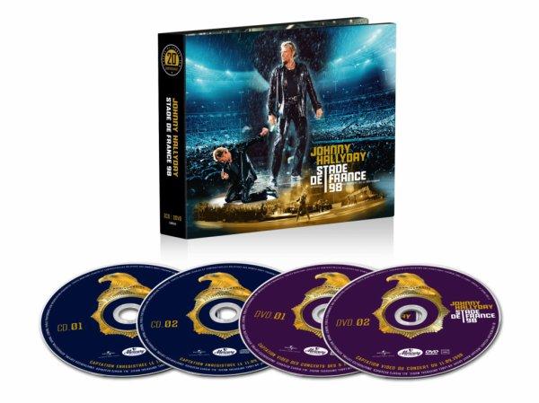 coffret cd/dvd sdf 11.09.98
