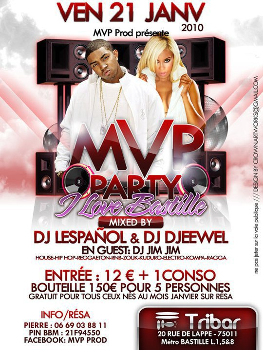 MVP PARTY / I LOVE BASTILLE