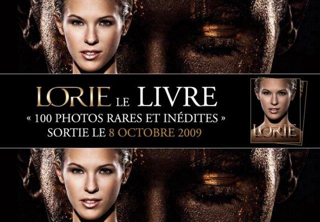 LORIE - Le livre photo - Sortie le 8 octobre 2009