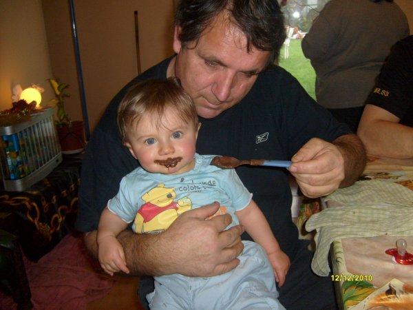 Mon doudou et son papy