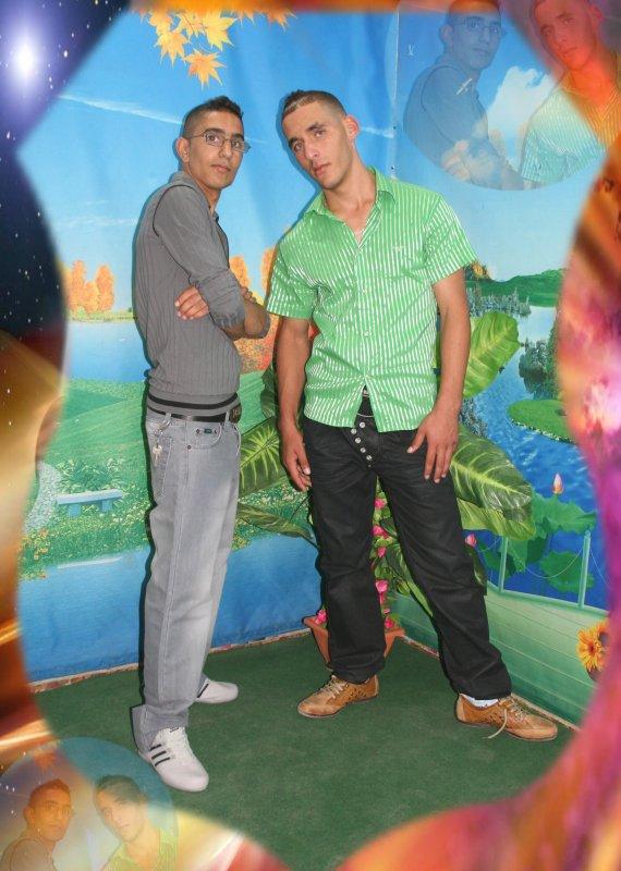 moi et mon ami rabah ( micheal jackson)