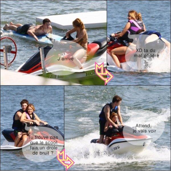 BD: Miley et Liam à la plage le 31 juillet....