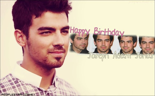 Joe Jonas fête ses 22 ans !