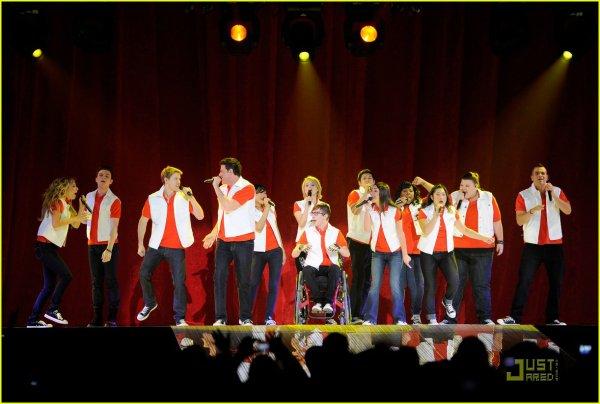 Glee live tour et glee tout court