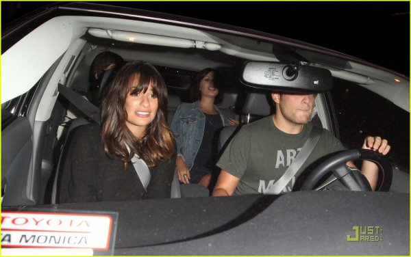 Lea Michele: Dominick's Dinner Date with Theo Stockman