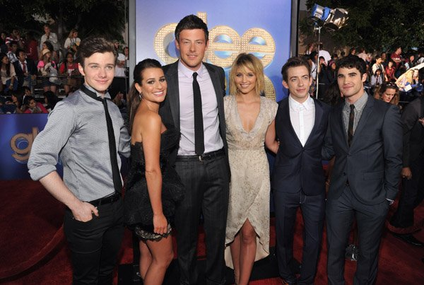 Glee The 3D Concert Movie premiere