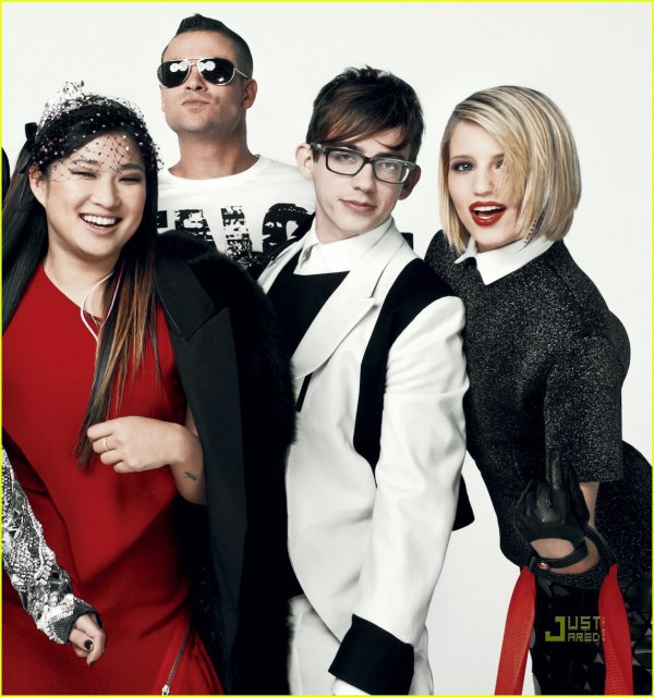 'Glee' Cast: Vogue Editorial for Fashion's Night Out!