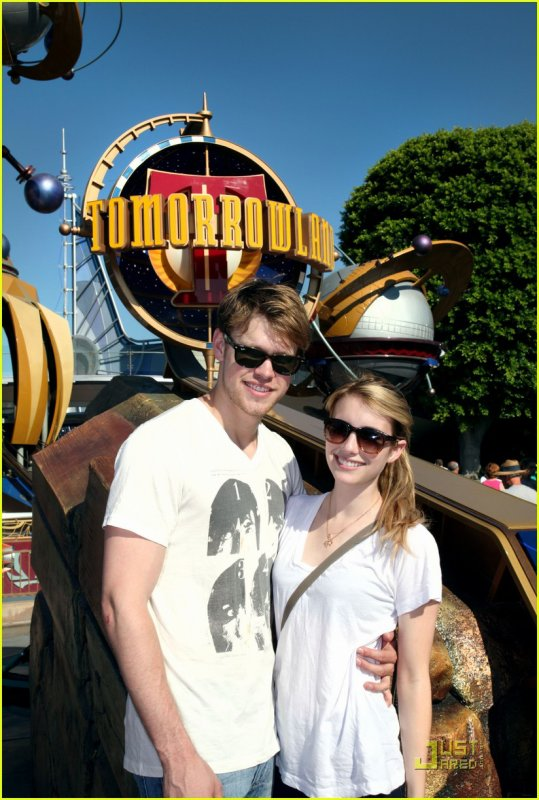 Chord Overstreet & Emma Roberts: Disneyland Duo