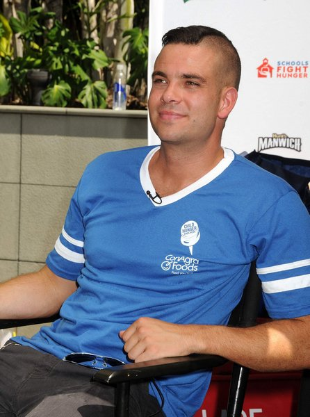 Thumbs up for Mark Salling