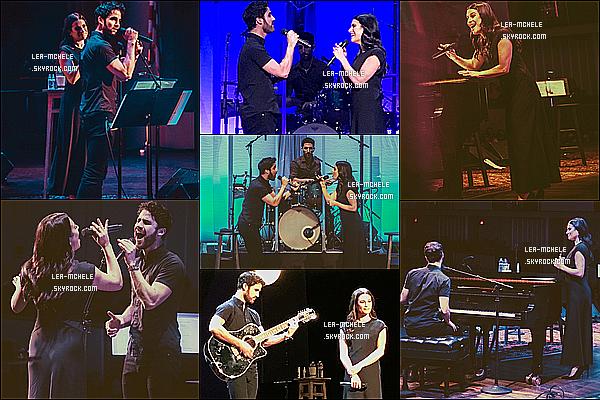 * 03/06/18 :    Lea et Darren ont performé pour le « LM/DC Tour » au Kennedy Center qui se trouve dans Washington. Lea était très jolie. J'aime trop sa robe noire, ce style de robe lui va à merveille je trouve. Je suis fan aussi de sa mise en beauté - C'est un Top pour moi !  *