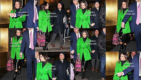 * '•-16/12/19-' : Lea était invitée dans l'émission de télévision « The Tonight Show Starring Jimmy Fallon » - à New York. Plus tard, elle a été vue quittant les studios de l'émission The Tonight Show Starring Jimmy Fallon. Lea est sublime. J'aime bien sa tenue ! *