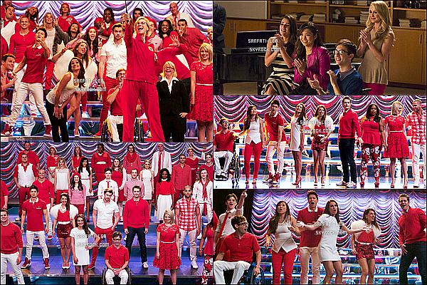 *  ● Découvrez les stills  de l'épisode final 6x13 de la série Glee  « Dreams Come True »!  *