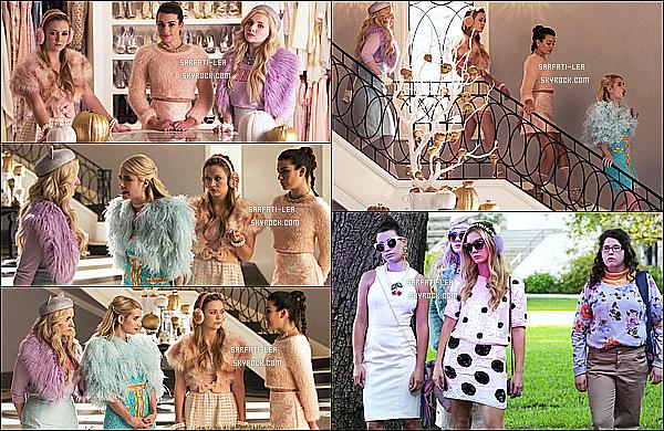 *  ● Stills de l'épisode 1x05 de la série Scream Queens se nommant « Pumpkin Patch »  *