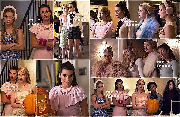 *  ● Plusieurs stills de l'épisode 1x04 de la série Scream Queens - « Haunted House » !  *