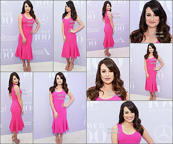 * 09/12/15 :  Lea a assisté à l'événement «  The Hollywood Reporter's Annual Women In Entertainment ». Lea était tout simplement ravissante. J'aime bien son maquillage discret et sa coiffure. Sa robe rose est jolie aussi et lui va à merveille. Top pour moi  *