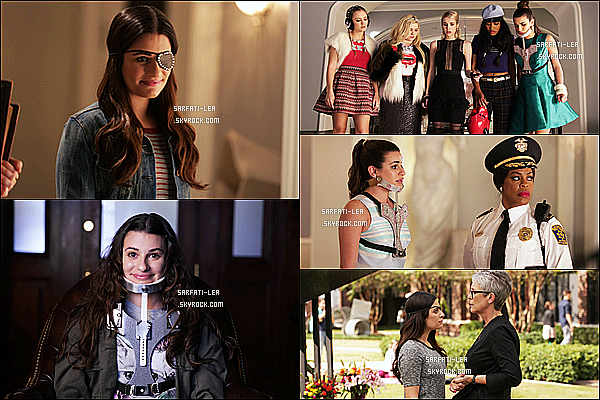*  ● Découvrez les stills de l'épisode final 1x13 « The Final Girls » de Scream Queens !.  *