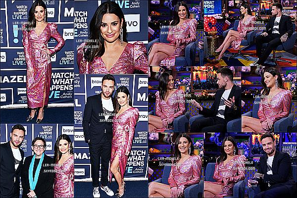 * '•-19/12/19-' : Lea était invitée sur le plateau de l'émission « Watch What Happens Live With Andy Cohen », à New York. Lea M.  était invitée avec Liam Payne. Elle était sublime. Je suis fan de sa mise en beauté. J'aime bien aussi sa robe. C'est un Top pour moi *