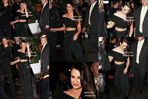 * 23/02/16 :  Lea  était présente à l'événement « Vanity Fair Young Hollywood Celebration » - à Los Angeles. Son amie Becca Tobin était également présente à cet événement. Lea était magnifique, j'aime beaucoup sa coiffure. La tenue qu'elle porte est bien !  *