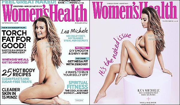 *  Découvrez un photoshoot de Lea topless pour le magazine « Women's Health UK » !  *